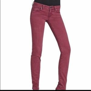 CAbi wine red style #26 skinny jeans 👖